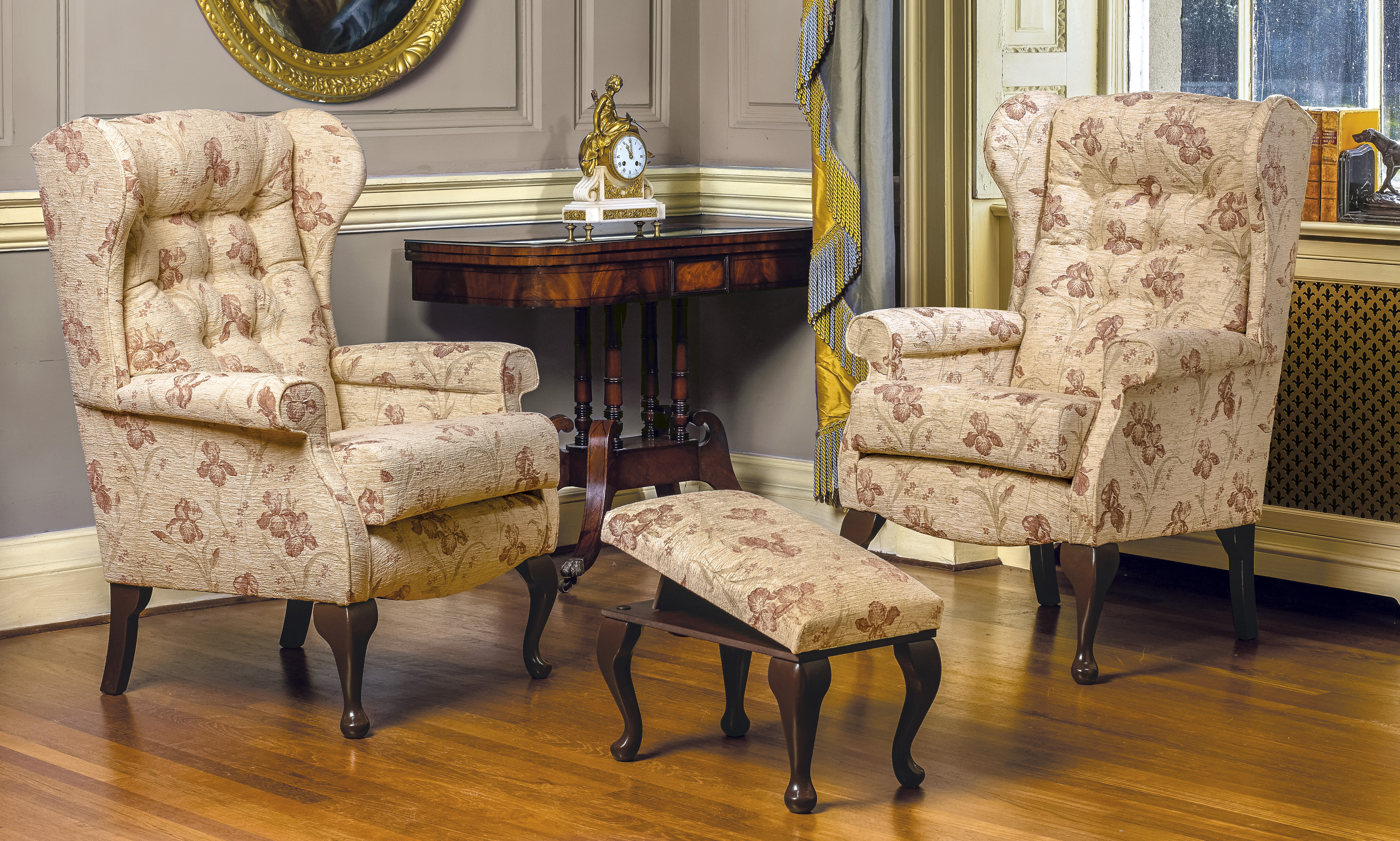 Edinburgh Wing Back Chair Your Quality Of Life Is Our